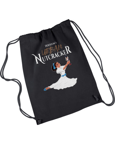 Clare and the Nutcracker Drawstring Bag
