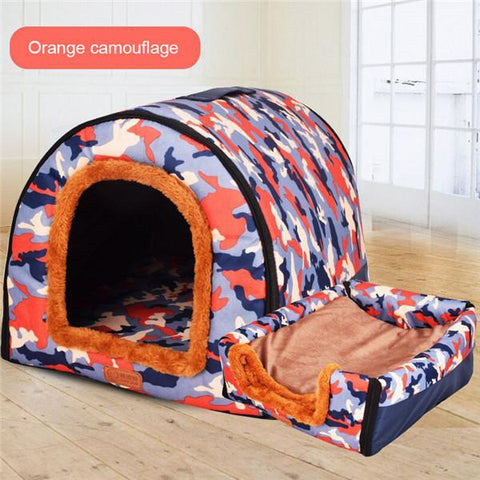 Fold-able Pet Dog Beds and Sofa is Hand Washable for pet dogs or cats
