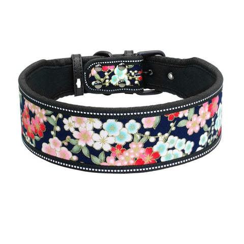 Reflective Nylon Dog Collar