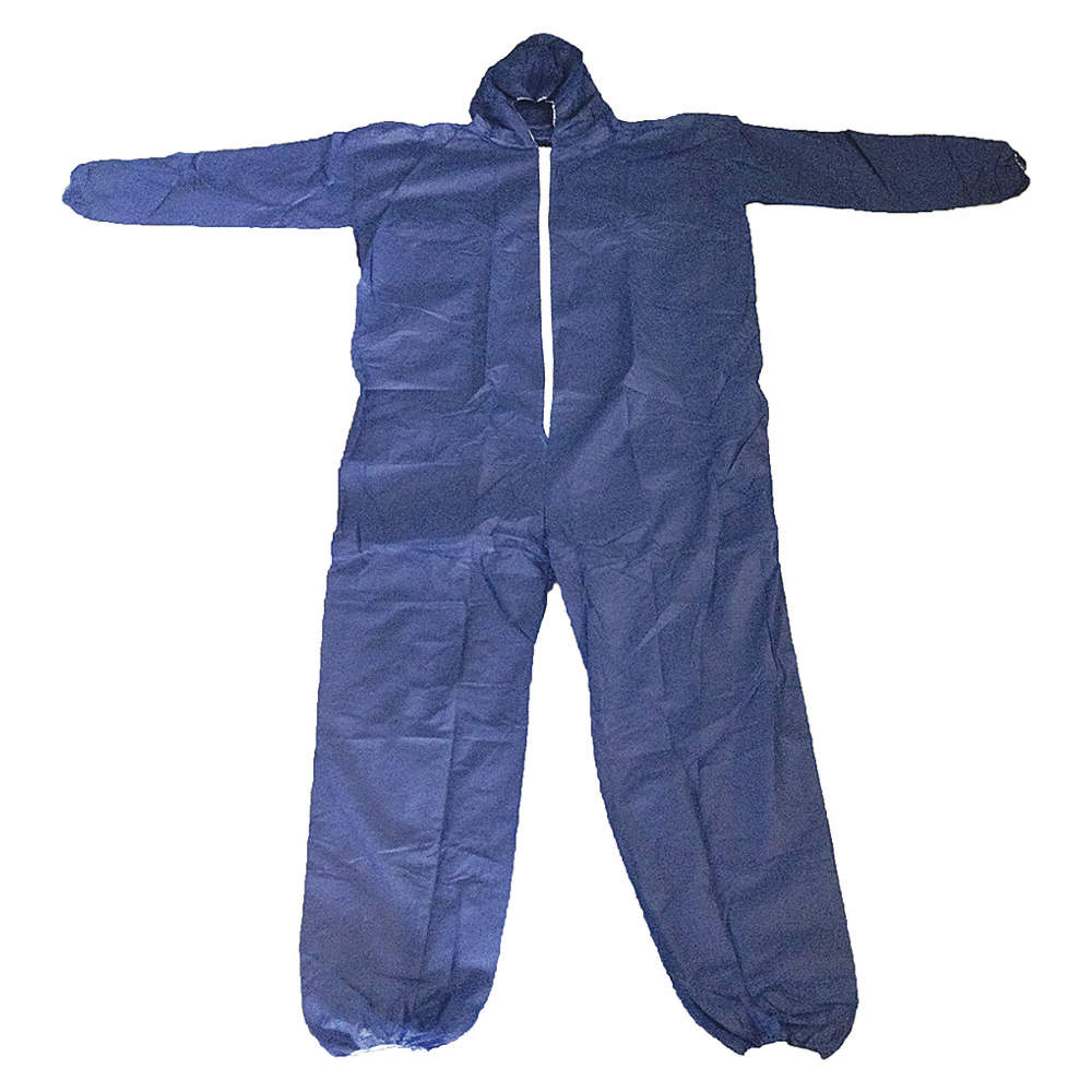 Coverall Blue Large /PK25