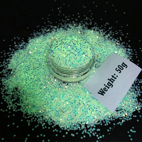 DIY GLITTER GLOW-IN-THE-DARK