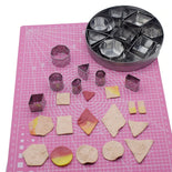 24 Pieces Clay Cutter Set