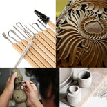 11 Pcs Clay Sculpture Tools