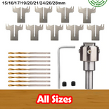BeadJet™ Ring & Button Drill Bit