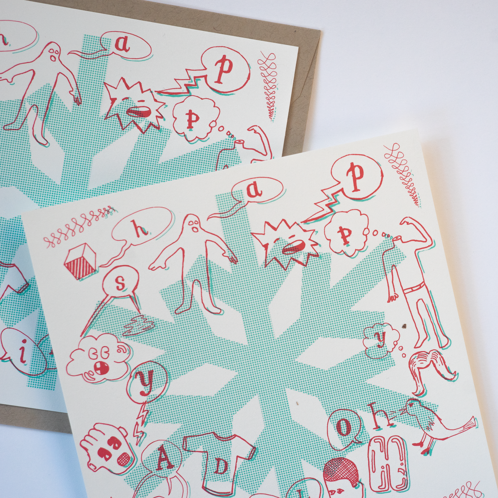 Holiday Crew • Happy Holidays Cards (Limited Edition)