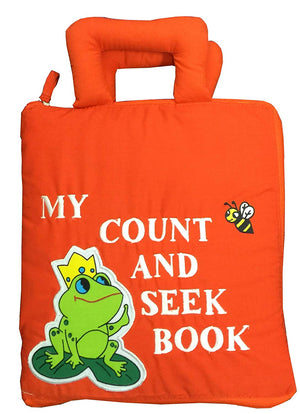 Count and Seek Fabric Activity Book - Pockets of Learning
