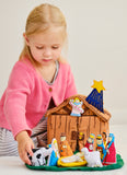 Nativity House Manger by Pockets of Learning