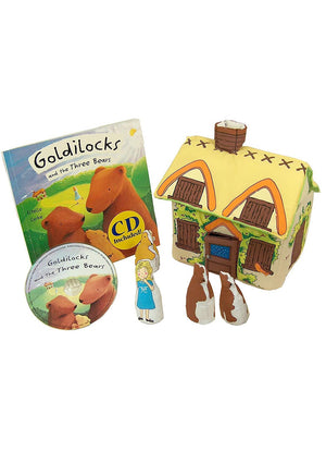Goldilocks and The Three Bears Playset by Pockets of Learning