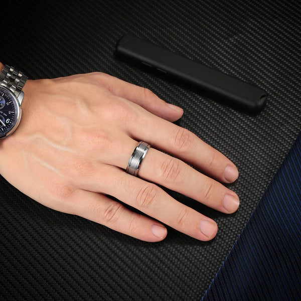 Tungsten Carbide Rings are Strong, Beautiful, Shiny, and Perfect For Men and Women