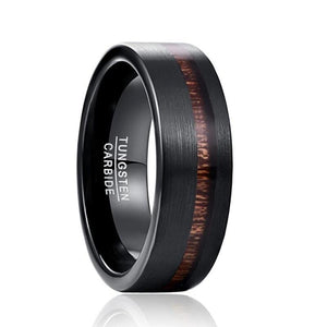 Black Matte Pure Carbide Tungsten Ring