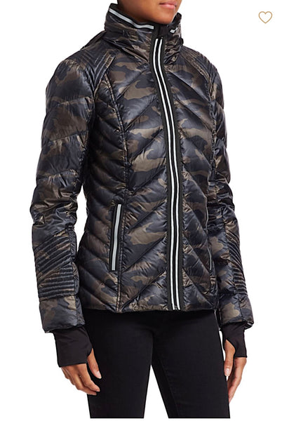 Puffer Camo with Reflective Jacket