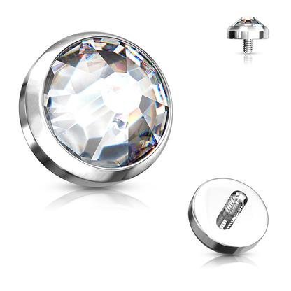 Dermal Anchor - Jewelled Disk