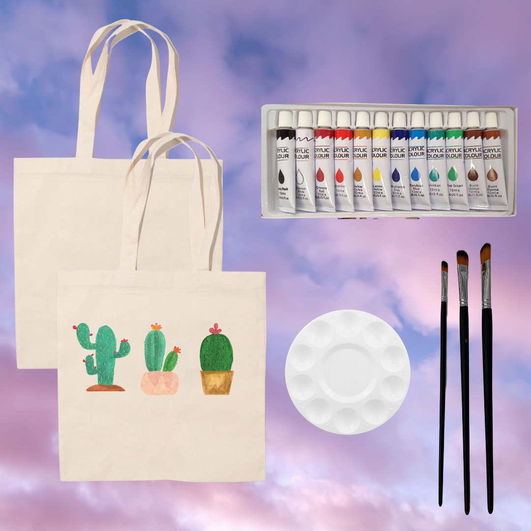 Creativity Tote Bag Paint Kit