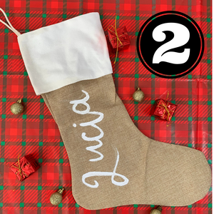 Custom Name Stocking