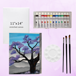 Creativity Canvas Paint Kit