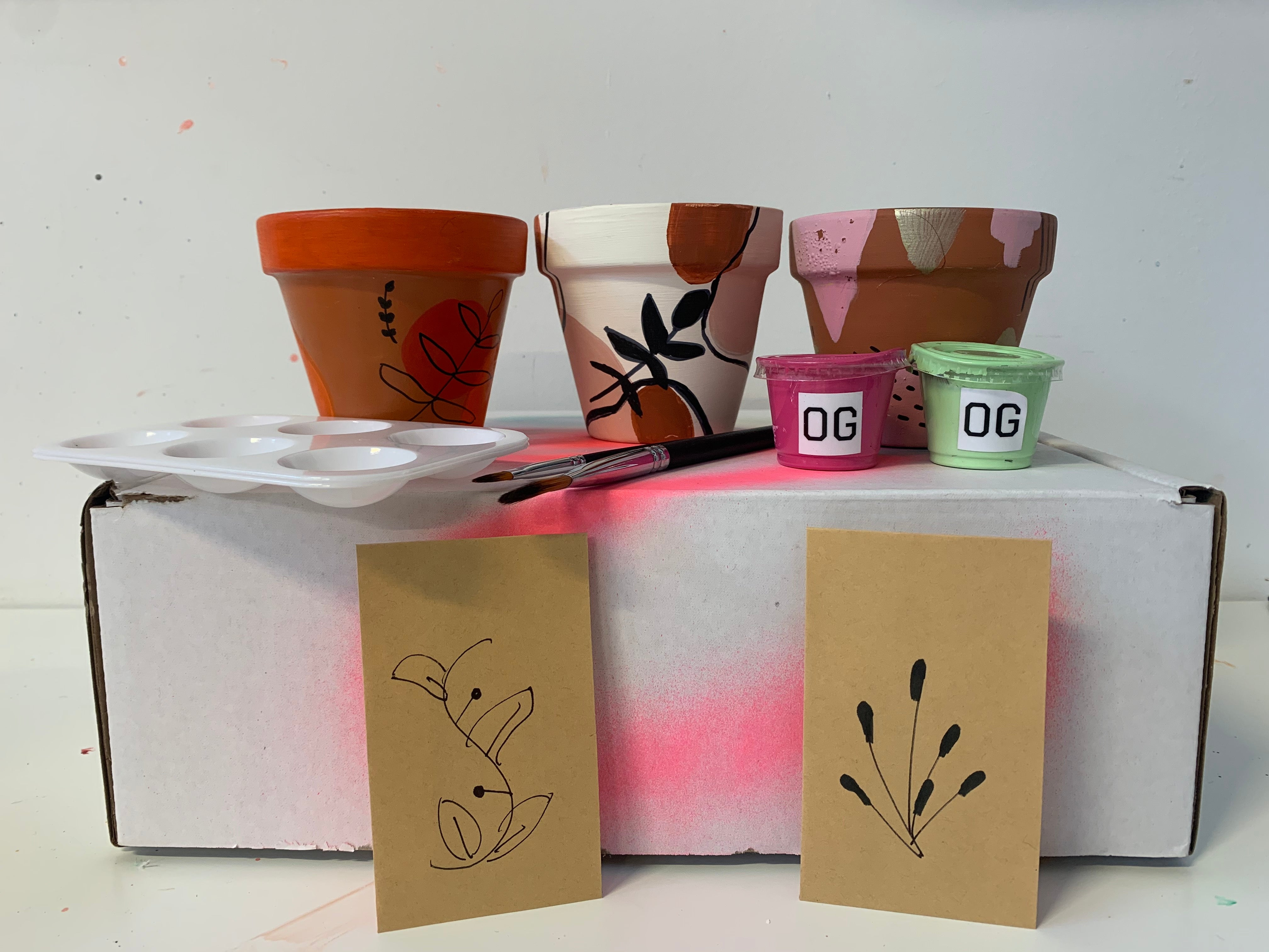 Creativity Terracotta Pot Paint Kit