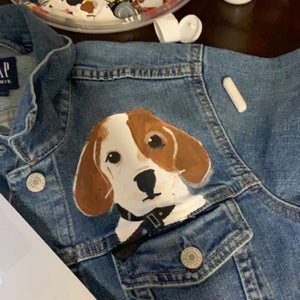 Custom Pet Hand Painted Jacket