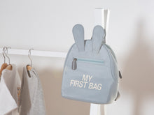 Afbeelding in Gallery-weergave laden, Childhome My First Bag kinderrugzak grijsblauw