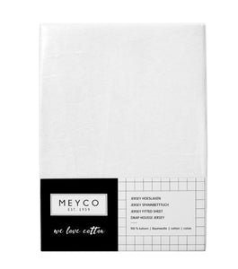 Meyco jersey hoeslaken 1-persoons