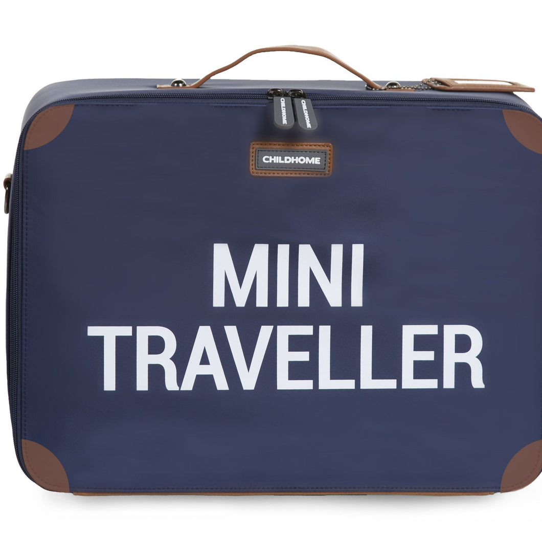 Childhome Mini traveller kinderkoffer navy