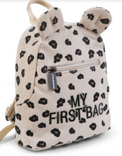Afbeelding in Gallery-weergave laden, Childhome My First Bag kinderrugzak leopard