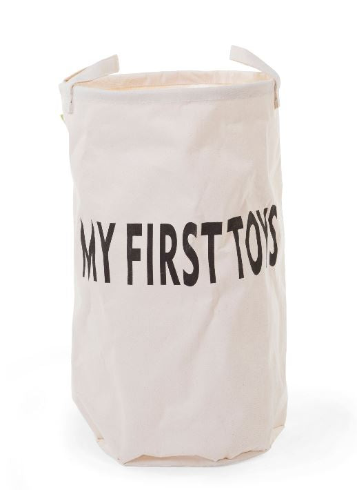 Childhome opbergmand 'my first toys' 34x34x58cm