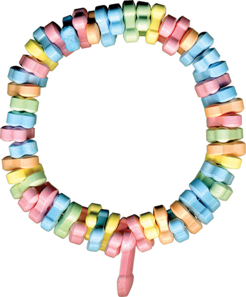 Rainbow Penis Candy Necklace HTP2157