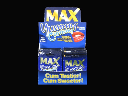 Max Yummy Cummy - 24 Count Display - 4 Count Packets MD-MDUSAYUM24