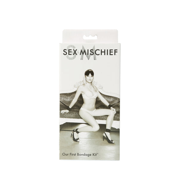 Sex and Mischief Our First Bondage Kit - Black SS930-06
