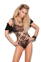 Lace Teddy - One Size - Black EM-8722