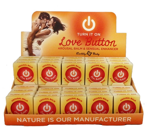 Love Button Arousal Balm - 30 Piece P.O.P. Display EB-HLB102D