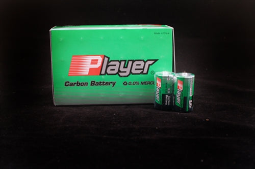 Player Extra Heavy Duty C Batteries - 24 Count Box SP3