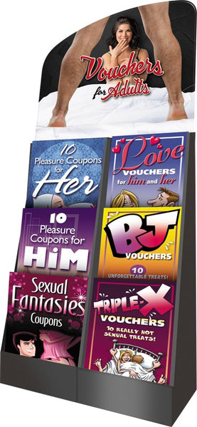 Voucher Booklets Display - 48 Units OZ-VCB-DIS