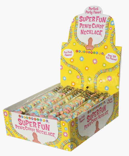 Super Fun Penis Candy - 24 Piece Display CP-681