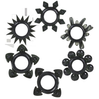 Tower of Power Set of 6 - Black DJ0860-02