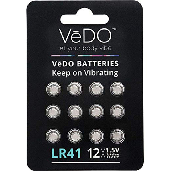 LR41 Batteries 12 Pack VI-BAT12