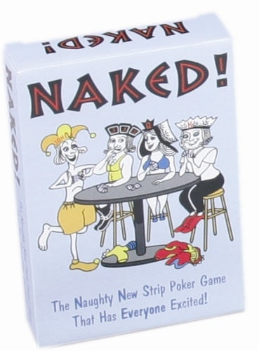 Naked! - Card Game KG-BGC72