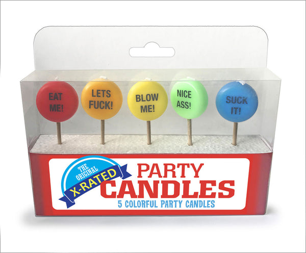 X-Rated Party Candles CP-936