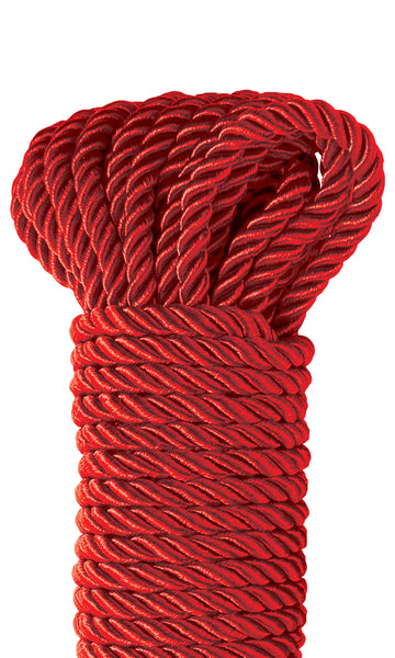 Fetish Fantasy Series Deluxe Silky Rope - Red PD3865-15