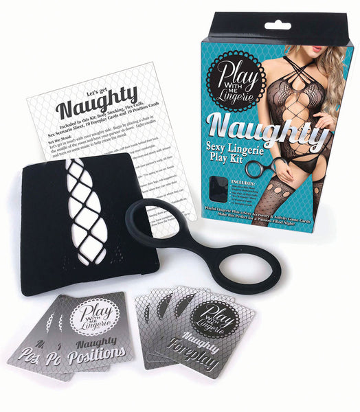 Play With Me Lingerie Kit - Naughty LG-PWM005