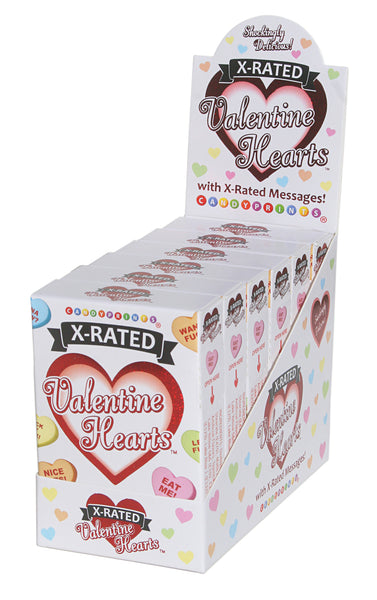 X-Rated Valentine's Heart Candy - 6 Count Display CP-2746
