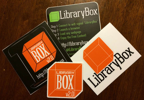 LibraryBox Sticker