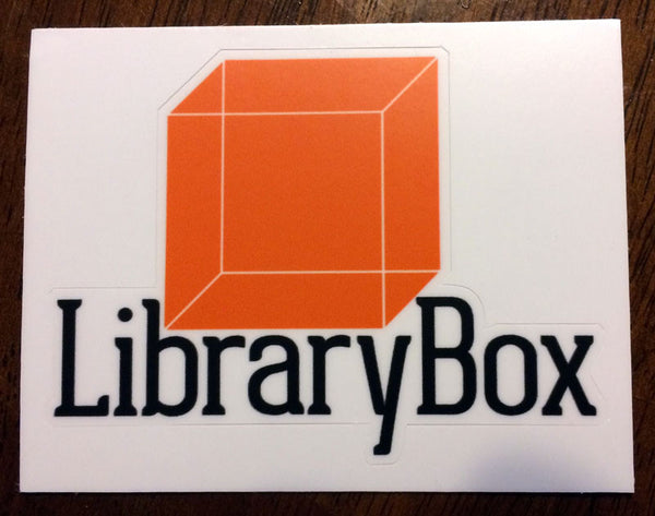LibraryBox Text logo