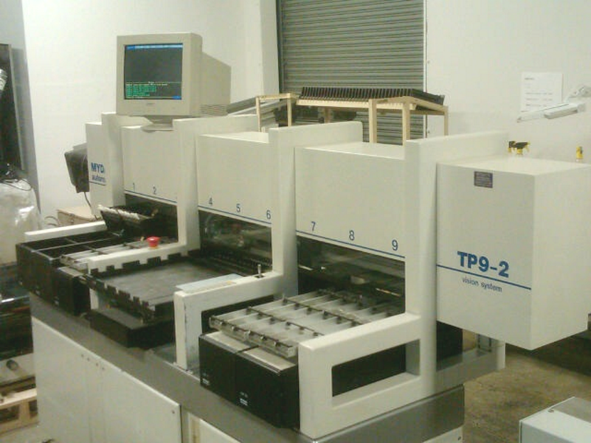 Mydata TP9 for fine pitch placement, SMT Line 1 Empac