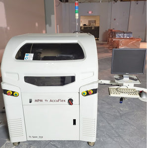 Fully Automated Screen Printer MPM Accuflex Screen Printer