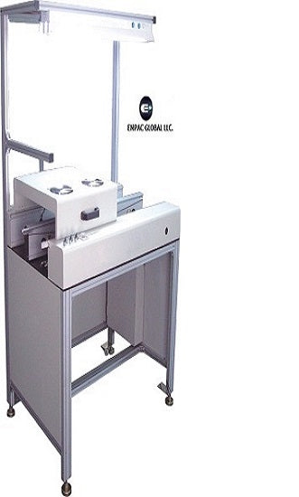 SMT PCB Linking Conveyor Inspection Station Conveyor with Cooling Fans_SMTDevices