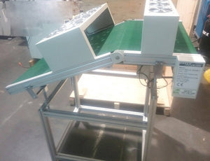 New Wave Exit Conveyor with Fans