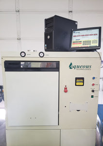 Aqueous SMT 800 Cleaner, REFURBED 2020, TESTED Guaranteed, REBUILT Computer, Optional Chemical Management System