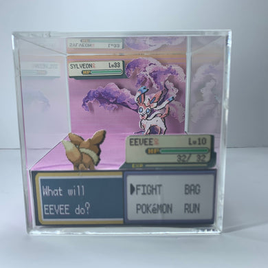 Eevee vs Sylveon Cube