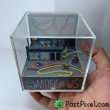 Load image into Gallery viewer, Among Us Electrical Diorama Cube